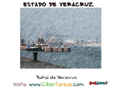 Bahia de Veracruz - Estado de Veracruz