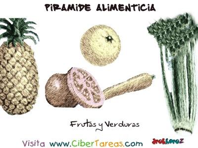 Frutas y Verduras - Piramide Alimenticia
