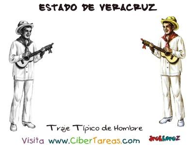 Traje Tipico de Hombre - Estado de Veracruz