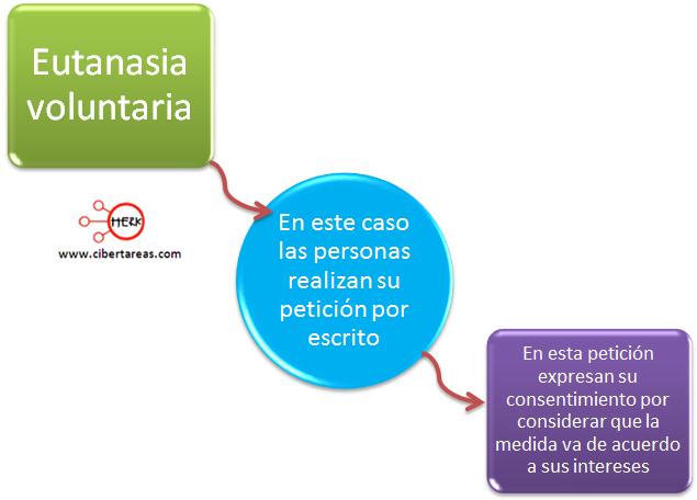 eutanasia voluntaria concepto mapa conceptual etica y valores 2