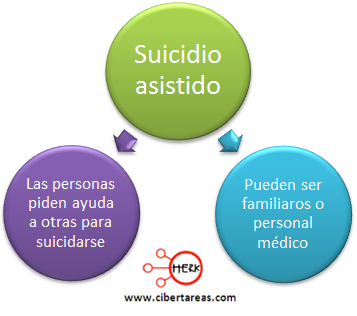 suicidio asistido concepto mapa conceptual etica y valores 2