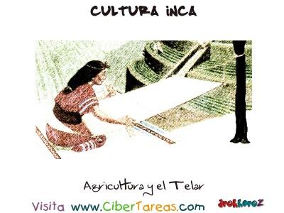 Agricultura y el Telar - Cultura Inca