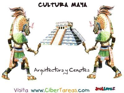 Arquitectura y Cenotes - Cultura Maya