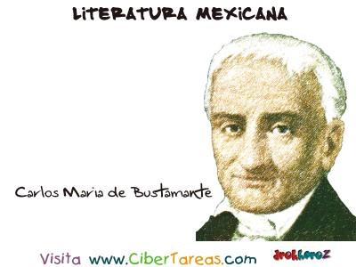 Carlos Maria de Bustamante - Literatura Mexicana