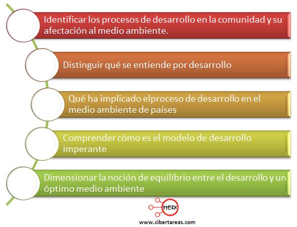 Dimensiona el medio ambiente y el desarrollo etica y valores