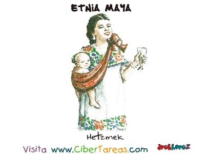 Hetzmek - Etnia Maya
