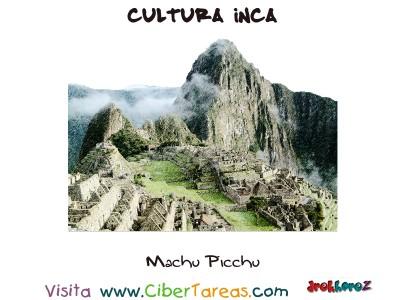 Machu Picchu - Cultura Inca