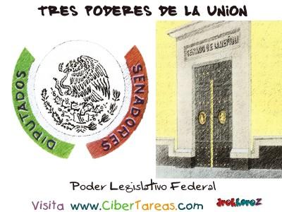 Poder Legislativo Federal - Tres Poderes de la Union