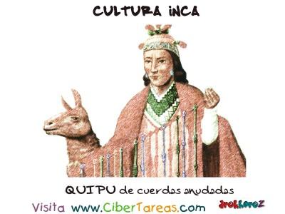 QUIPU de cuerdas anudadas - Cultura Inca