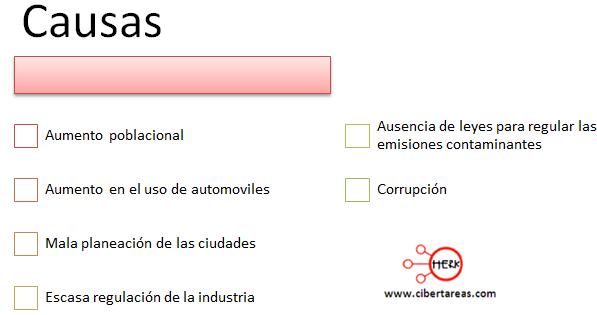 causas contaminacion atmosferica etica y valores
