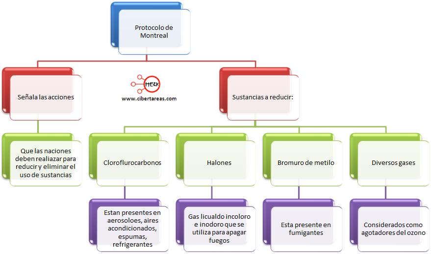protocolo de montreal mapa conceptual etica y valores