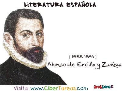 Alonso de Ercilla y Zuñiga - Literatura Española