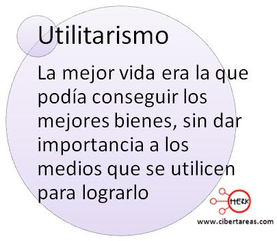 Utilitarismo definicion mapa conceptual etica y valores