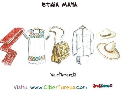 Vestimenta - Etnia Maya