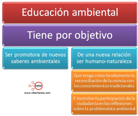 educacion ambiental objetivo etica y valores