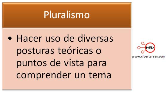 pluralismo etica y valores