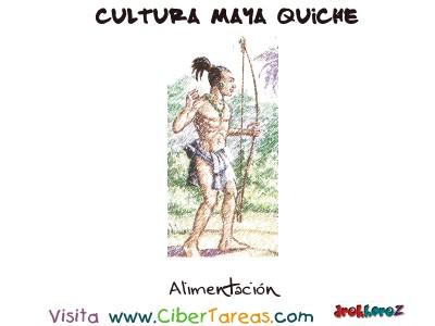 Alimentacion - Cultura Maya Quiche