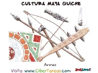 Armas - Cultura Maya Quiche