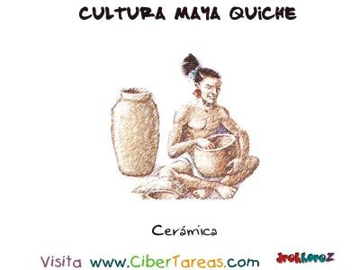 Ceramica - Cultura Maya Quiche