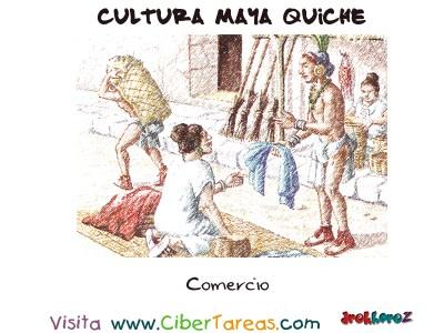 Comercio - Cultura Maya Quiche