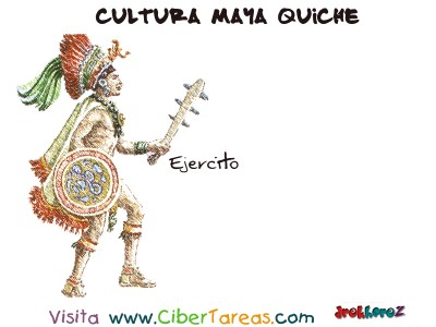 Ejercito - Cultura Maya Quiche