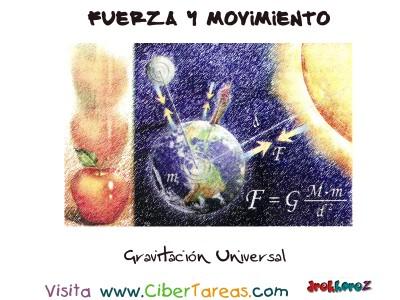 Gravitacion Universal - Fuerza y Movimiento
