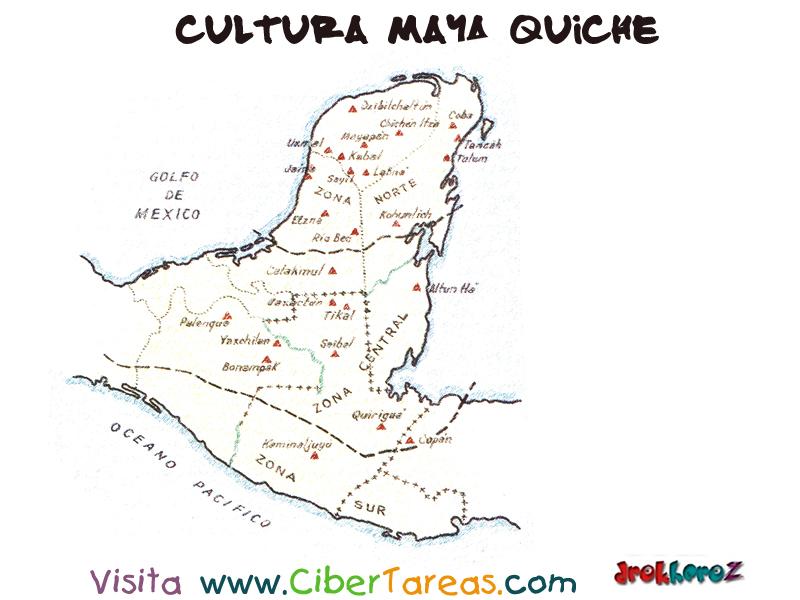 Regiones cultura maya quiche cibertareas for Cultura maya ubicacion