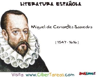 Miguel de Cervantes de Saavedra - Literatura Española