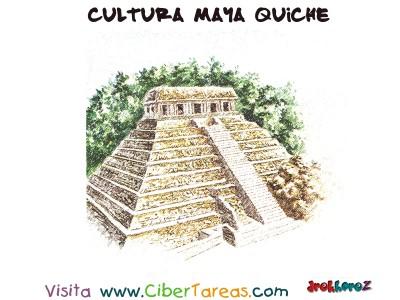 Piramide - Cultura Maya Quiche