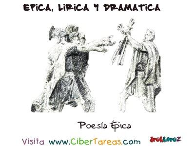Poesia Epica en Literatura - Epica, Lirica y Drmatica
