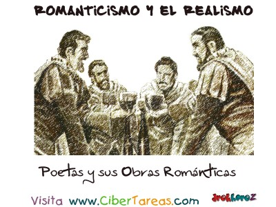 Poetas y sus Oras Romanticas - Romanticismo y el Realismo