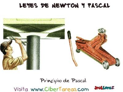 Principio de Pascal - Leyes de Newton y Pascal