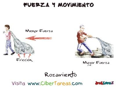Rozamiento - Fuerza y Movimiento
