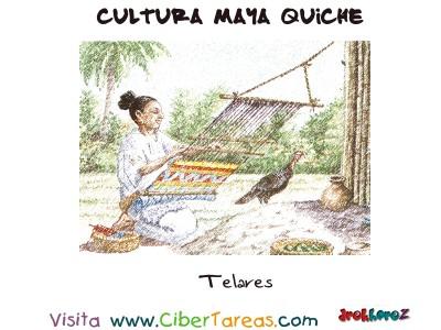 Telares - Cultura Maya Quiche