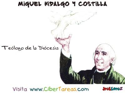 Teologo de la Diocesis - Miguel Hidalgo y Costilla