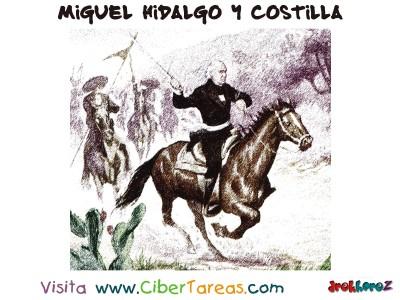 Tomando las Tropas Insurgentes - Miguel Hidalgo y Costilla