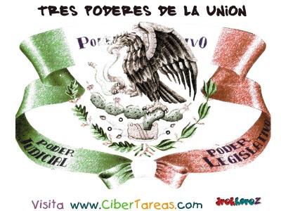 Tres Poderes de la Union