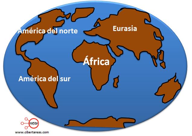 cenozoica evolucion de los continentes y oceanos geografia