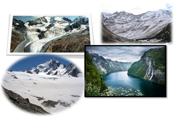 erosion hidrica glacial geografia