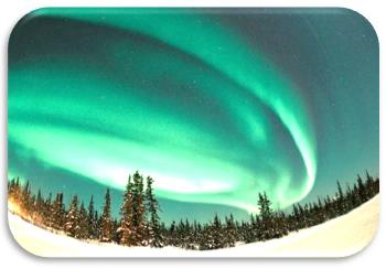 influencia del sol en la tierra auroras boreales