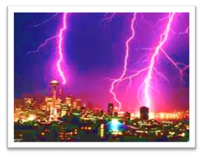 influencia del sol en la tierra tormentas electricas