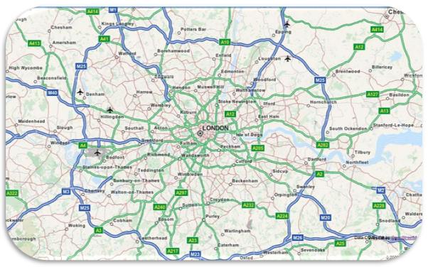 mapa humano ejemplo geografia