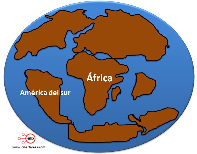 mesozoica evolucion de los continentes y oceanos geografia