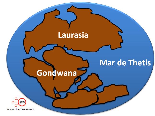 paleozoica evolucion de los continentes y oceanos geografia