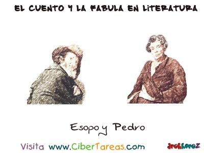 Esopo y Pedro - El Cuento y la Fabula en Literatura