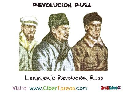Lenin en la Revolucion Rusa - Revolucion Rusa