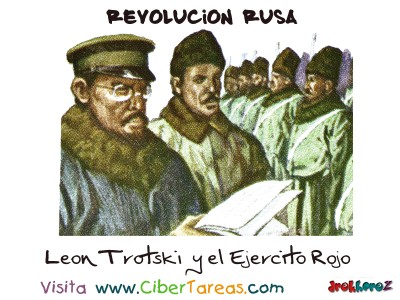 Leon Trotski y el Ejercito Rojo - Revolucion Rusa