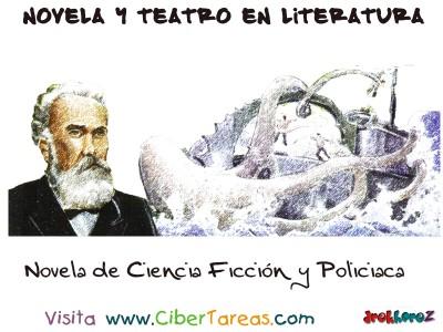 Novela de Ciencia Ficcion y Policiaca - Literatura