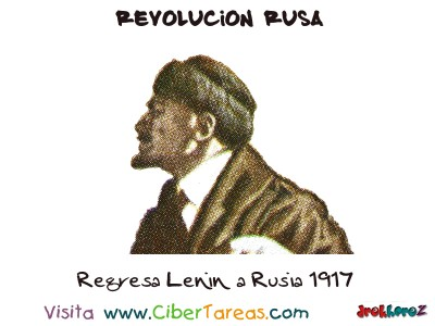 Regresa Lenin a Rusia 1917 - Revolucion Rusa