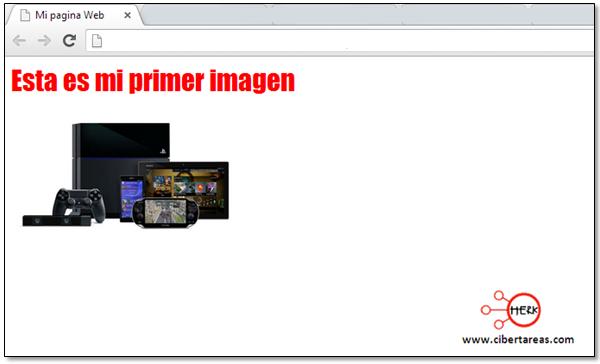 cambiar el tamaño de una imagen en html